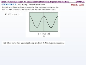 HPC: CU 6: 4.6 Day 3: Graphs of Composite Trigonometric Functions