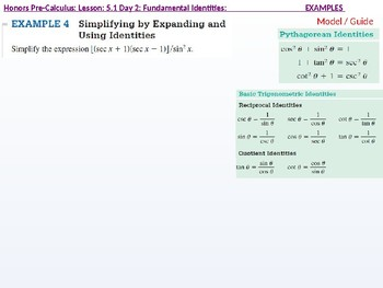 HPC: CU 7A: 5.1 Day 2: Fundamental Identities