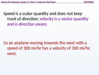 HPC: CU 8: 6.1 Day 3: Vectors in the Plane
