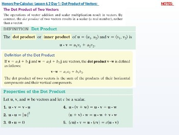 HPC: CU 8: 6.2 Day 1: Dot Product of Vectors