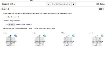 HPC: CU 9: Review: Parametric Equations, Polar Coordinates, & Complex Numbers