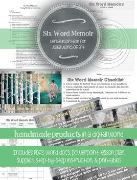 HS Advanced Visual Art: Six Word Memoir, Language Arts Cro