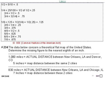 HS [Remedial] Applied Math I UNIT 2: Ratios;Proportion (4 worksheets; 6 quizzes)