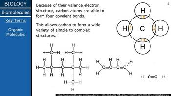HS Biology - Biochem - Biomolecules PPT