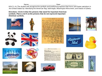 HS-C 2- A Symbols and Practices of Patriotism VAAP