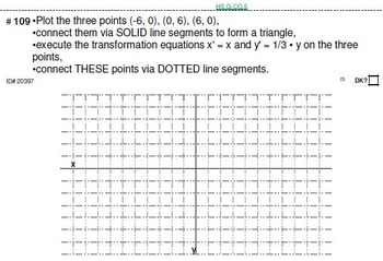 HS Geometry B UNIT 3: Transformations (4 worksheets & 7 quizzes)