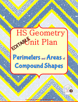 HS Geometry  Unit  Plan: Perimeter and Area of Compound Shapes