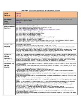 Perimeter & Area: Complex figures