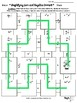 Algebra Puzzle Maze:Simplifying Zero & Negative Powers St. Patrick's Day EDITION
