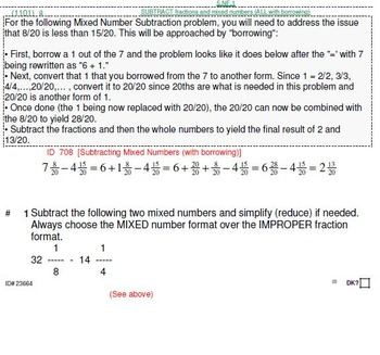 HS [Remedial] Algebra 1A Sampler: (textbook-less course)-34 pgs