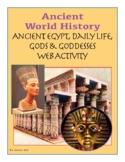 HS World History - Ancient Egypt Web Activity