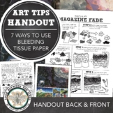 HS or MS Visual Journal or Art Journal: Magazine Fade Coll