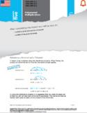 HSA: Polynomials & Factoring: L5: Polynomial Multiplicatio