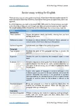 English paper writing service