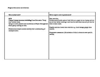 12 HSC DT Project Proposal and Project Management