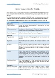 HSC Standard English Module A Essay and Essay Analysis: He