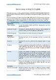 HSC Standard English Module A Sample Essay &  Analysis: As