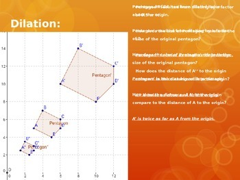 HSG-CO.A.2a&5a Transformations