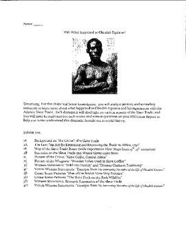 HSI: Slave Trade
