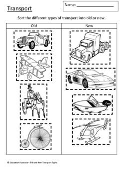 Transport - Old and New Transport - Transport Types - Test
