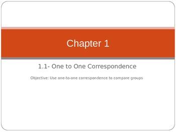 HSP Math Chapter 1 Lesson 1