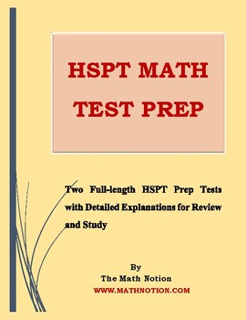 HSPT Math Tests Prep