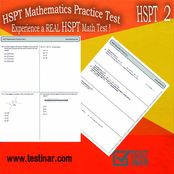 HSPT Mathematics Practice Test - 2