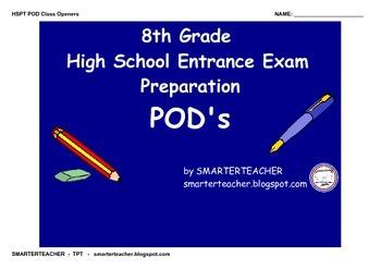 HSPT Preparation PODs PDF