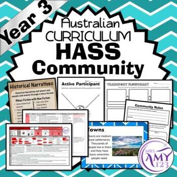 HASS YEAR 3 Community Unit - Geography & History