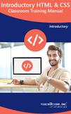 HTML 5 and CSS Classroom Training Curriculum