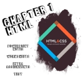 HTML & CSS Chapter 1