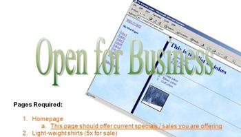 HTML Forms & Frames Website