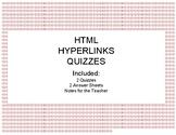 HTML Hyperlinks Quizzes