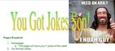 HTML Javascript Jokes Website