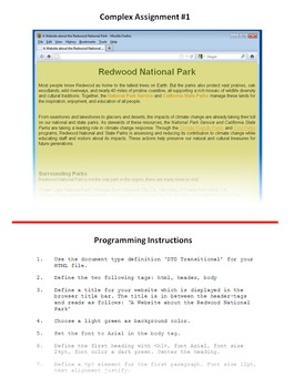 HTML Programming & Web Design: Practical Part Unit 1