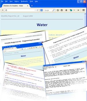 HTML Programming & Web Design: Practical Part Unit 1 - Immersion and Enhancement