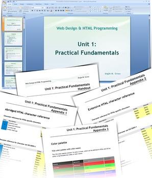 HTML Programming & Web Design: Theoretical Part Unit 1