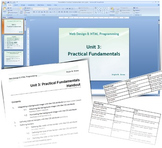 HTML Programming & Web Design: Theoretical Part Unit 3
