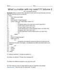 HTML - What's a matter with my code? - Volume 2