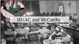 HUAC and McCarthy PowerPoint and Peardeck