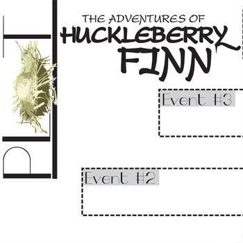 HUCKLEBERRY FINN Plot Chart Organizer (by Twain)