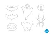 HUE Halloween Shadow Puppets