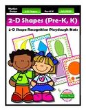 HUGE 2-D Shapes Playdough Mat Pack
