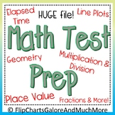 HUGE 3rd Grade Math Test Prep Bundle ~ CCSS ~ 30+ Files + FREEBIE