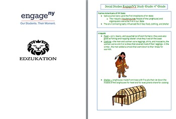HUGE 4th NYS EngageNY Bundle Math Reading/LA SC SS Study G