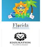 HUGE 5th Florida FSA Bundle Math Reading/LA SC SS Study Guides & TWO Workbooks