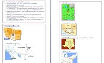 HUGE 5th GA Milestones Bundle Math Reading/LA SC SS Study Guides & TWO Workbooks