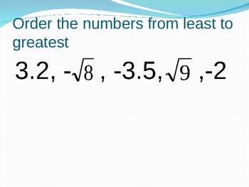 HUGE Algebra Review Powerpoint for Partner/Whiteboard Practice