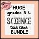 HUGE {All the TASK CARDS} SCIENCE grades 3-6 Bundle by Science Doodles