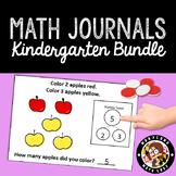 HUGE BUNDLE of 120 Math Journals with Number Bonds: Kindergarten & 1st Grade